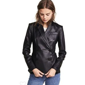 Theory Leather Blazer. Size 2 & 4. Retail- $1300